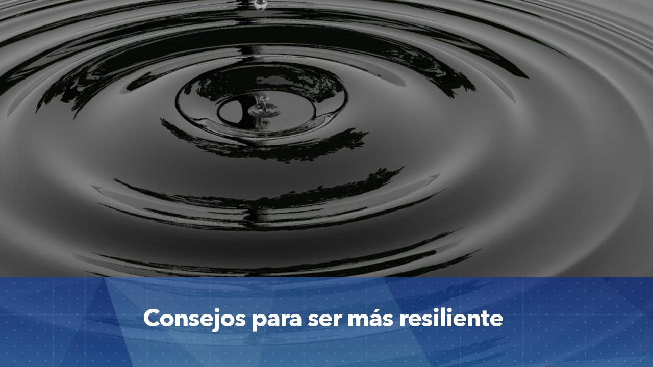 piedra al agua resiliencia
